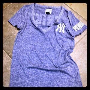 PINK NY Yankees T-shirt